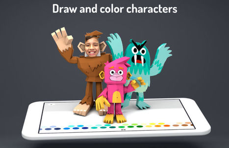 Google's Toontastic 3D Helps Kids Create Cartoon Movies | Droid Life | Edtech PK-12 | Scoop.it