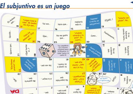 ¡Tablero estilo oca para practicar el subjuntivo! | CEsp Magazine (Octubre) | Scoop.it