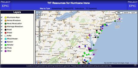 Tweak the Tweet Map   Mapping NYC hurricane   Scoop.it
