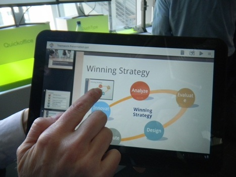 QuickOffice for Android Tablets Puts Presentations in True Portable Form | Gates | Scoop.it