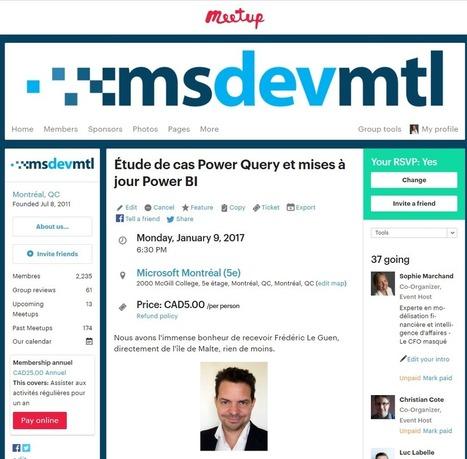 Venez rencontrer le co-auteur du livre Power Query et le langage M – Le CFO masqué | MSExcel | Scoop.it