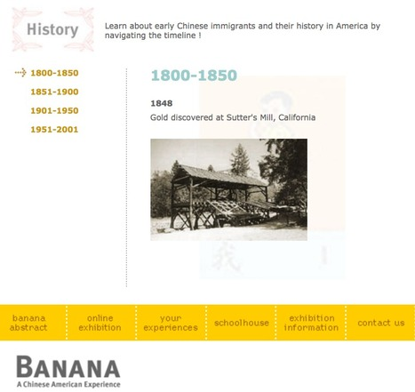 Banana : A Chinese American Experience | Chinese American history | Scoop.it
