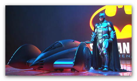 Batman and his 2011 Batmobile | Machinimania | Scoop.it