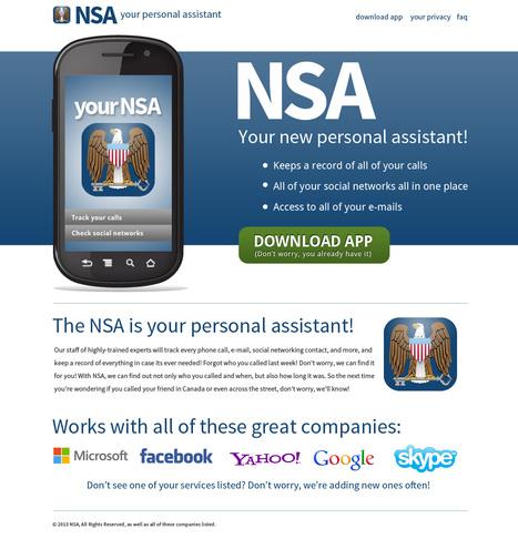 New #NSA Ap! via http://creative365.larrywestproductions.com/june_08_2013.php | Criminal Justice in America | Scoop.it