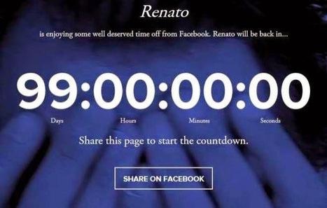 Experimento social sugere 99 dias de boicote ao Facebook   TecnoInter - Brasil   Scoop.it