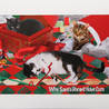 Christmas Cat Ornaments and Cards