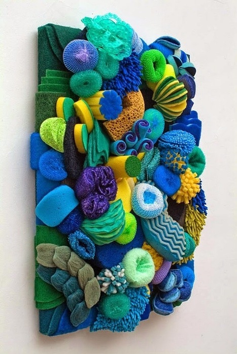 Artist Creates Incredible Coral Reef Sculptures Out of Common ... | ScubaDiving | Scoop.it