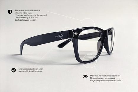 Test et avis des lunettes anti-lumière bleue Lusee | Nalaweb | Scoop.it