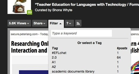 TELT: Teacher Education for Languages with Technology   Tech in teaching   Scoop.it