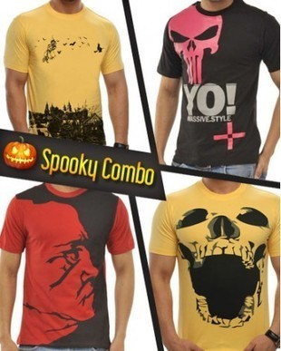 Spooky T-Shirts, Halloween T-shirts Combo, Shopping Online for T-shirts India | Other Topics | Scoop.it