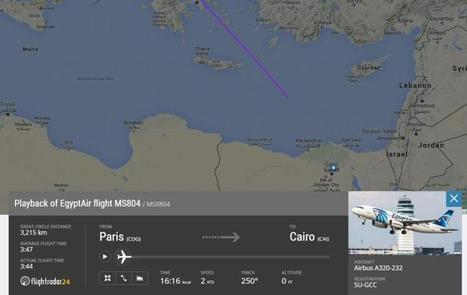 EgyptAir plane goes missing over Mediterranean   Me&Ubuntu   Scoop.it