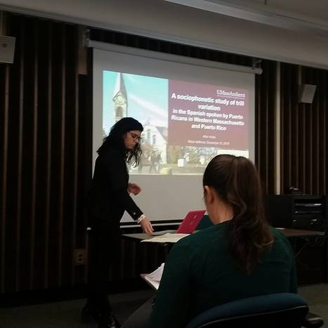 Alba Arias Successfully Defended her Major Candidacy Paper   | The UMass Amherst Spanish & Portuguese Program Newsletter | Scoop.it
