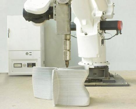 Design News - CAD/CAM Corner - Video: 3D Printed Furniture Is 'Endless' | Ingeniería & Diseño | Scoop.it