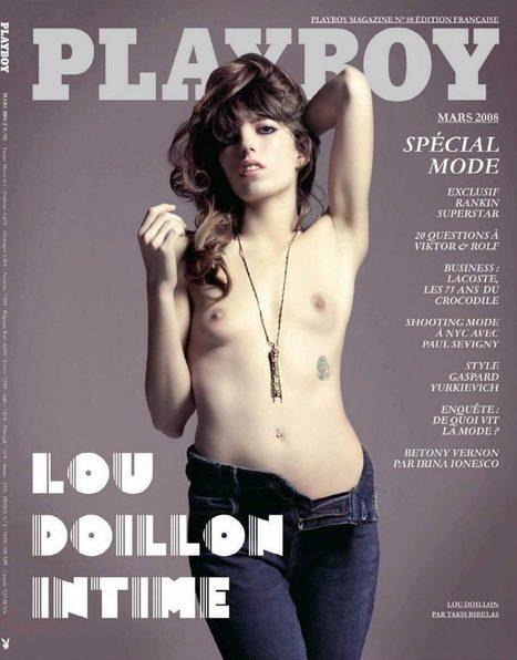 Photos : Lou Doillon nue dans Playboy | Radio Planète-Eléa | Scoop.it
