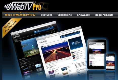 @webtvsolutions: Professional and affordable online video solutions  WebTV, VMS/Video CMS, Video Portals, Streaming. Flash + HTML5   Online Video Provider (OVP) List   Scoop.it