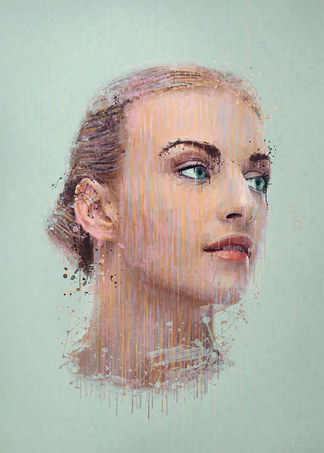 Apply a painterly splatter effect to a photo in Photoshop | Photoshop Photo Effects Journal | Scoop.it