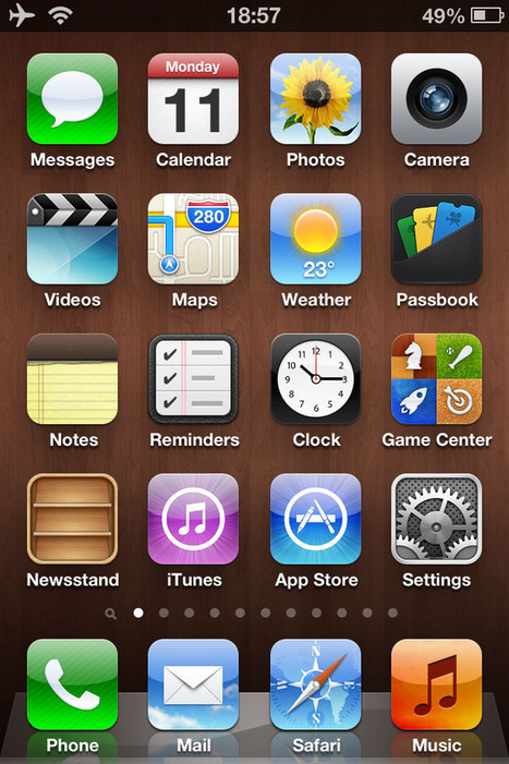 What's New In iOS 6: iPad, iPhone + iPod touch Screenshots - iLounge   Winning The Internet   Scoop.it