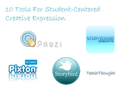 10 Tools For Student-Centered Creative Expression - TeachThought | WEB.02 tools for creative  EFL ESL learning & teaching | Scoop.it