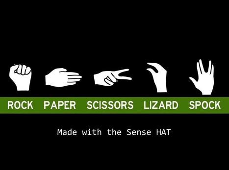 Play Rock Paper Scissors Lizard Spock with SenseHAT and Raspberry Pi #piday #raspberrypi @Raspberry_Pi | Raspberry Pi | Scoop.it