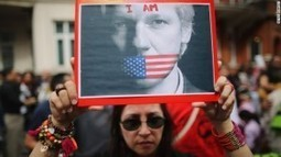 Assange supporters occupy Melbourne's UK consulate - Agito Brazil | Agora Brussels World News | Scoop.it