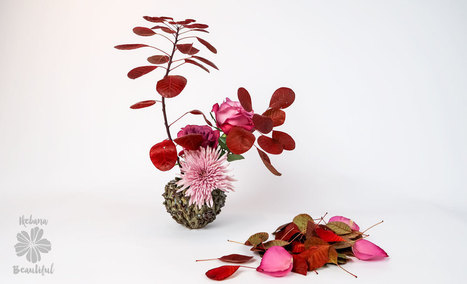 How To Make an Ikebana Beautiful Fall Flower Arrangement • Ikebana Beautiful | TRENDBUBBLES | Scoop.it