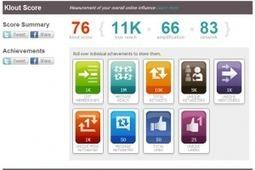 Guide d'utilisation de Klout, analyseur d'influence sur les médias sociaux | eTourisme - Eure | Scoop.it