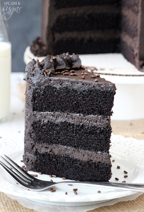 Best Chocolate Cake | The Man With The Golden Tongs Hands Are In The Oven | Scoop.it