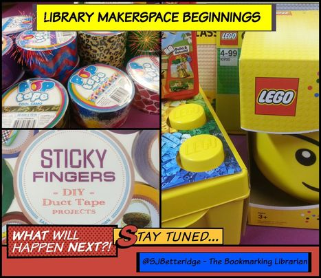 Sticky Fingers – Library Makerspace Beginnings | Book Week 2016 | Scoop.it