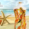 Sarongs, pareos, beach cover-ups