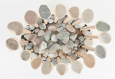 Fabrica creates Stone Pad musical instrument from stones and wood | DESARTSONNANTS - CRÉATION SONORE ET ENVIRONNEMENT - ENVIRONMENTAL SOUND ART - PAYSAGES ET ECOLOGIE SONORE | Scoop.it