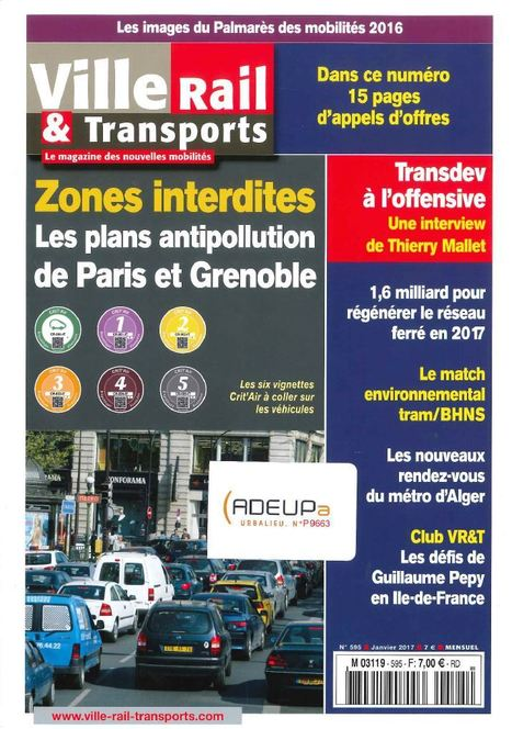 Zones interdites : les plans antipollution de paris et Grenoble | ADEUPa | Déplacements-mobilités | Scoop.it