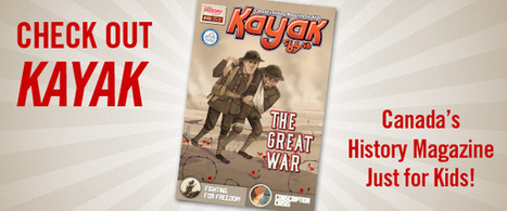 Teaching Canada's History Kayak Fall 2014   HCS Learning Commons Newsletter   Scoop.it