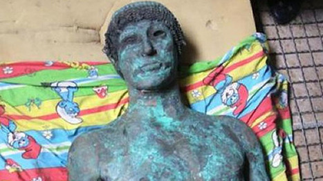 2,500-year-old bronze statue of the Greek god Apollo discovered by Palestinian fishermen | The Raw Story | History | Scoop.it