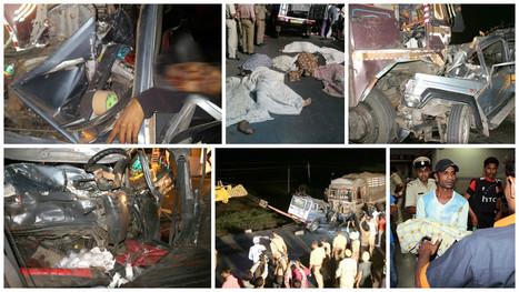 Rajkot: Nine Die in Truck-Jeep Collision