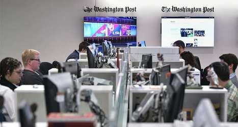 Le Washington Post embauche une soixantaine de journalistes | Actu des médias | Scoop.it