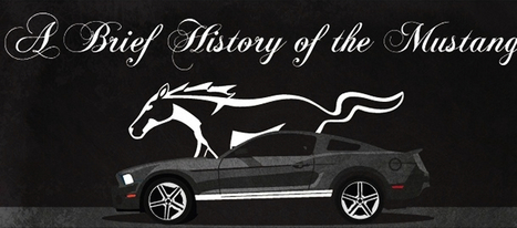 The History of Ford Mustang | Infographics | Scoop.it