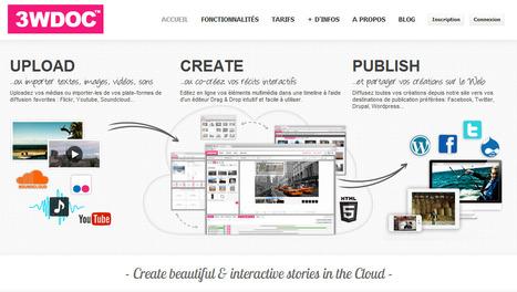 7 outils pour réaliser votre webdoc | Time to Learn | Scoop.it