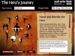 Hero's Journey - ReadWriteThink | Scriveners' Trappings | Scoop.it