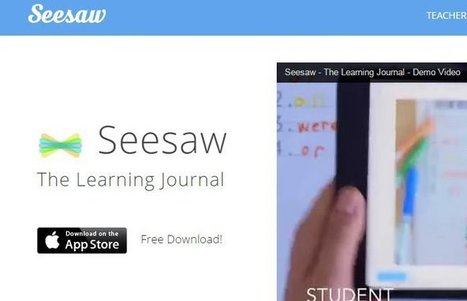 """New App """"Seesaw"""" Is A """"Learning Journal"""" For Students   21st Century Homeschooling Apps   Scoop.it"""