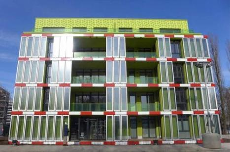 First algae powered building constructed in Hamburg, Germany | SJC Science | Scoop.it