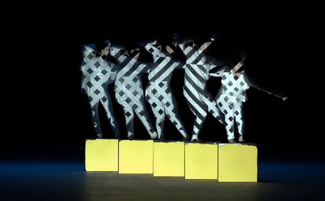 """Daito Manabe's Projection-Mapped Dancers Are A Visual Treat 