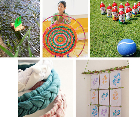 5 fun recycled crafts for kids — whip up | Kids Going Green!! | Scoop.it