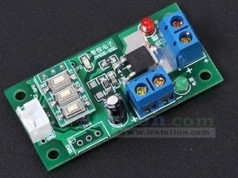 PMOS Switch Low Level Trigger Delay Timer Butto