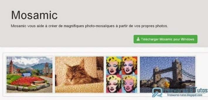 Mosamic : un logiciel gratuit pour créer des mosaïques de photos | TIC et TICE mais... en français | Scoop.it