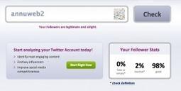 Fake Followers. Débusquez vos faux followers. | Les outils du Web 2.0 | Scoop.it