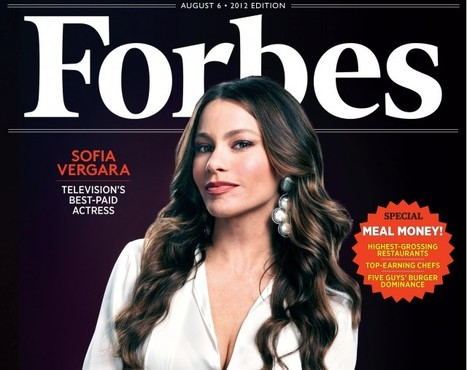 Sofia Vergara on the Cover of Forbes   Celebrity Club   Scoop.it