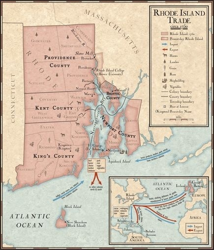 Trade In Rhode Island During The 1700s