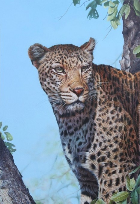 The Photo-Realistic Wildlife Paintings of Eric Wilson | Oddity Central - Collecting Oddities | Art Works | Scoop.it