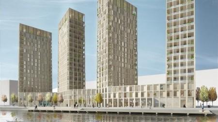 Sweden: Wooden high-rise planned for Stockholm | Adam Williams | GizMag.com | 911 | Scoop.it