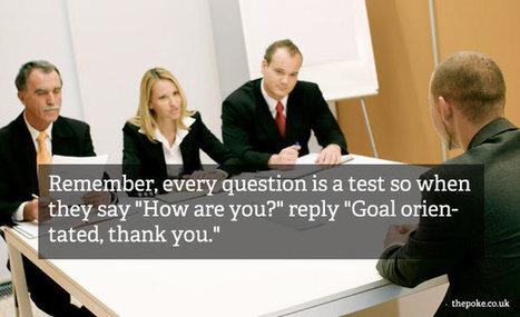 20 essential job interview tips   Job Interviews 101   Scoop.it